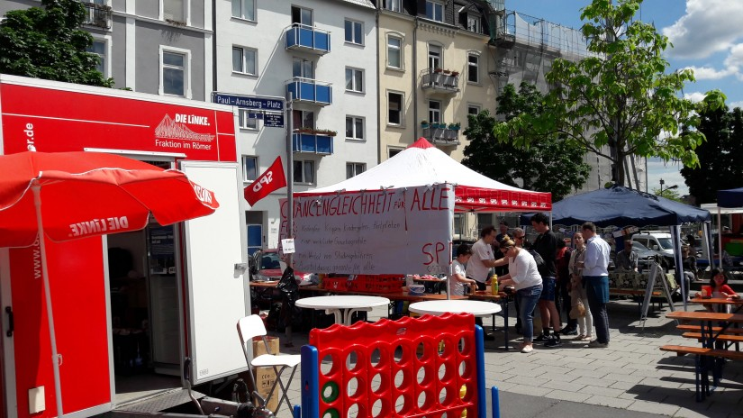 Lag BaOmer auf dem Pauls-Arnsberg-Platz