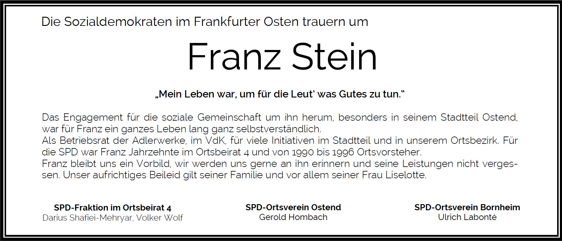 Traueranzeige_Franz