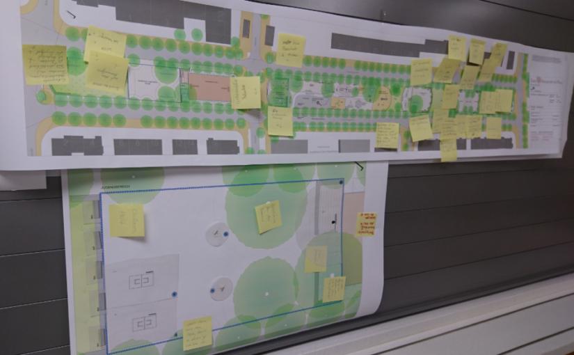 Vorstellung der Planungen für Paul-Arnsberg-Platz und Luxemburgerallee
